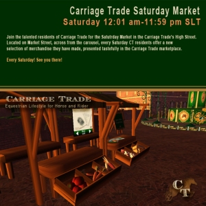 Join artist residents of Carriage Trade @ the Saturday Market!